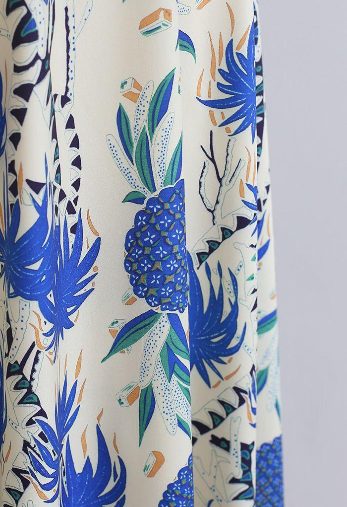 トロピカルマキシスカート