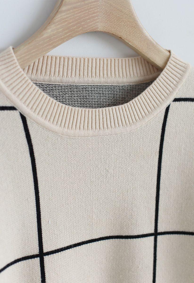 ドロップショルダーセーター