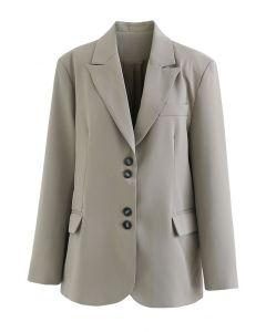 セージグリーンフロントポケットジャケット