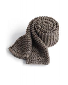 手編みニットスカーフ トープ